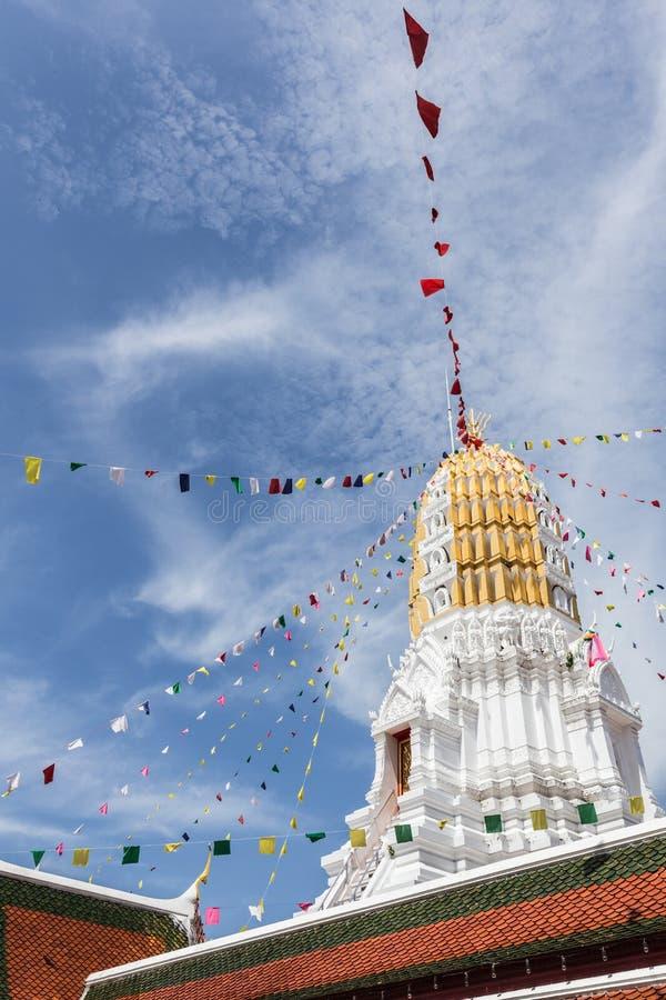 Wat Phra Sri Rattana Mahatat Woramahawihan a Phitsanulok Thaila fotografie stock