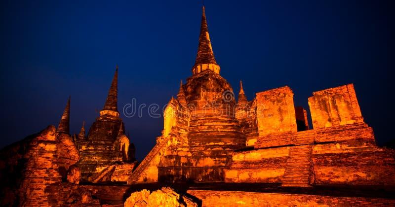 Wat Phra Sri Sanphet. imagem de stock royalty free