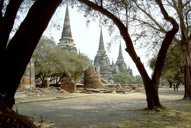 Wat Phra Sri Sanphet imagens de stock