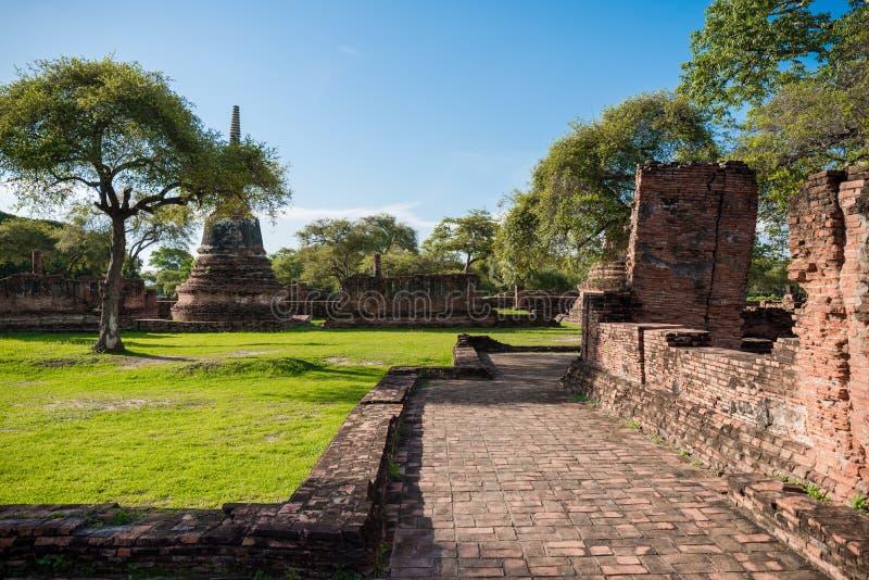 Wat Phra Sri Sanphet, Ayutthaya, Thaïlande photos libres de droits