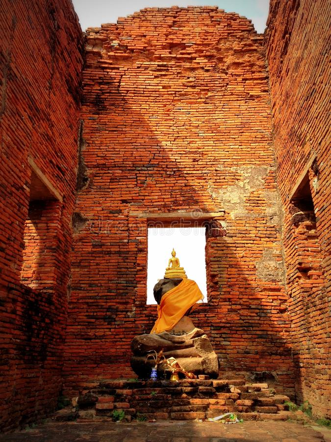 Wat Phra Sri Sanphet stock photo