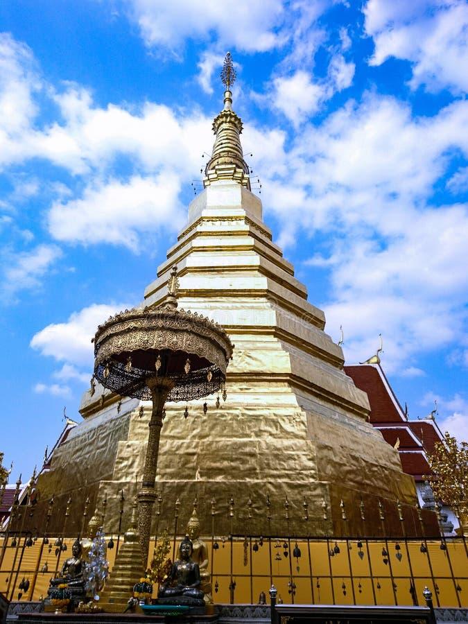 Wat Phra Tat CHOR头发 库存照片