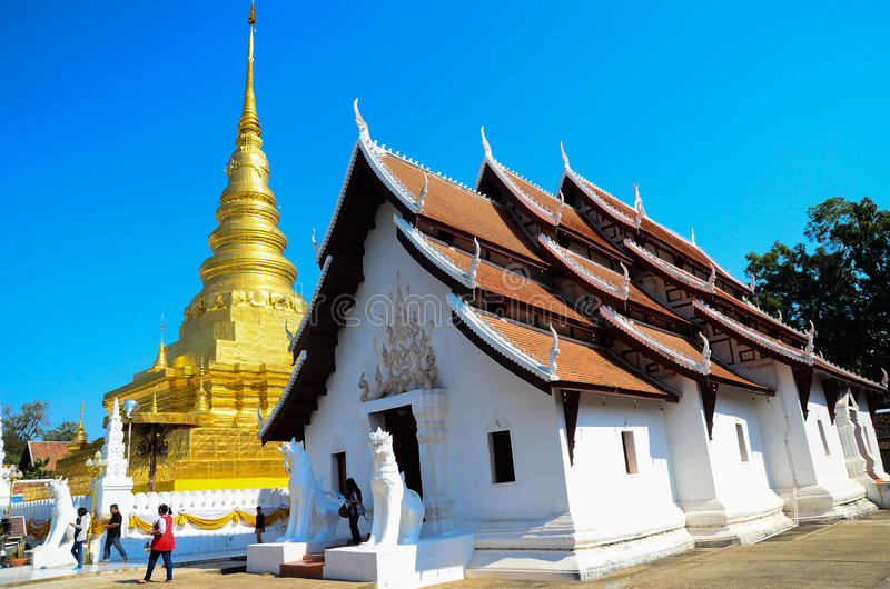 Wat Phra Tath chor-hair royalty free stock images