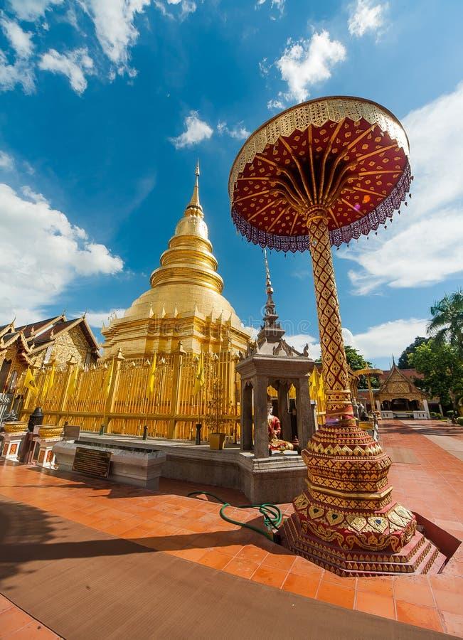 Wat Phra Ten Hari phunchai w Tajlandia fotografia royalty free