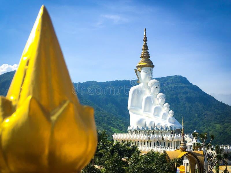 Wat Phra Thart Pha Kaew imágenes de archivo libres de regalías