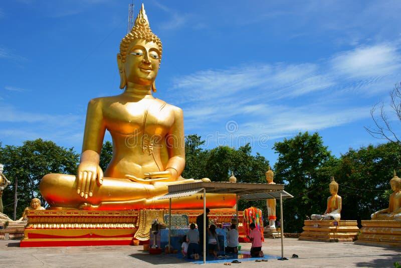 Wat Phra Yai foto de stock royalty free