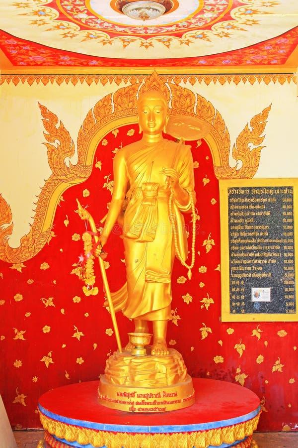 Buddha Statue In Wat Phra Yai Big Buddha Temple, Koh Samui, Thailand royalty free stock photo