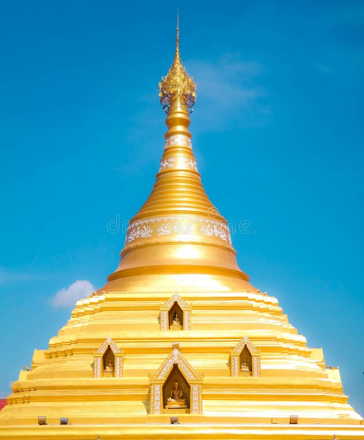 Wat phraborommathat royalty-vrije stock fotografie