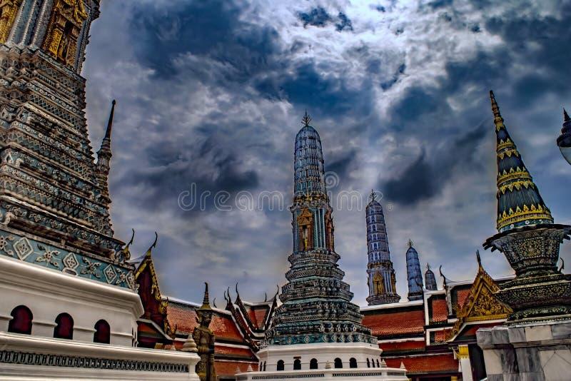 Wat phrachetupon vimolmankararam stock photos