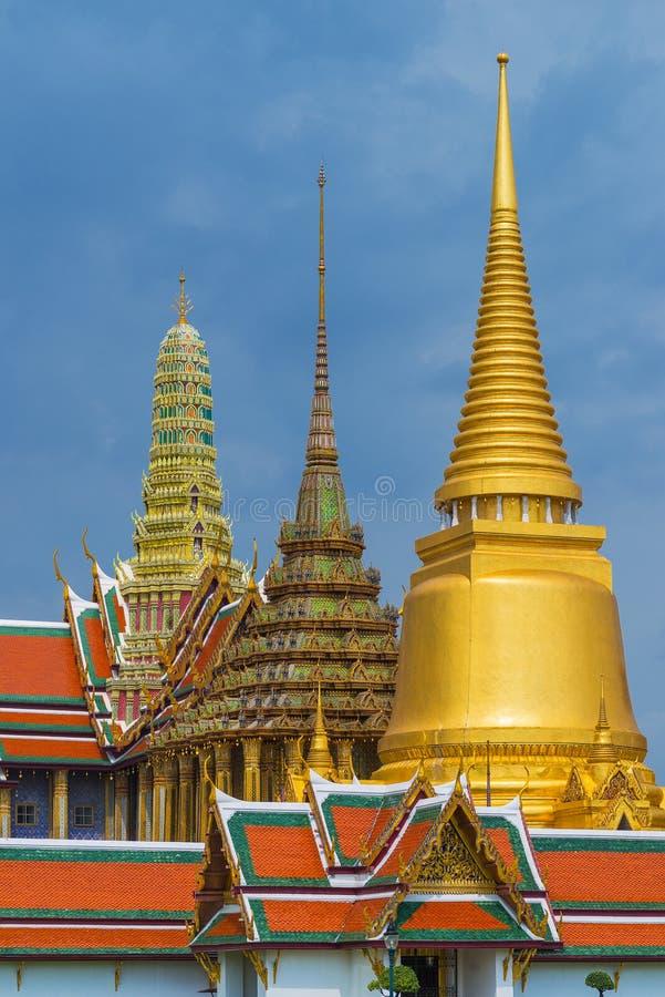 Wat Phrakaew (висок изумрудного Будды) стоковая фотография