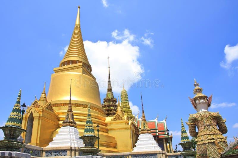 Wat Phrakeaw, Bangkok, Thaïlande photo stock