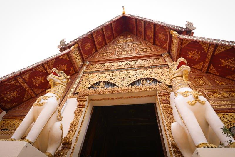 Wat phrasingha from Chiangrai. Thailand stock photo