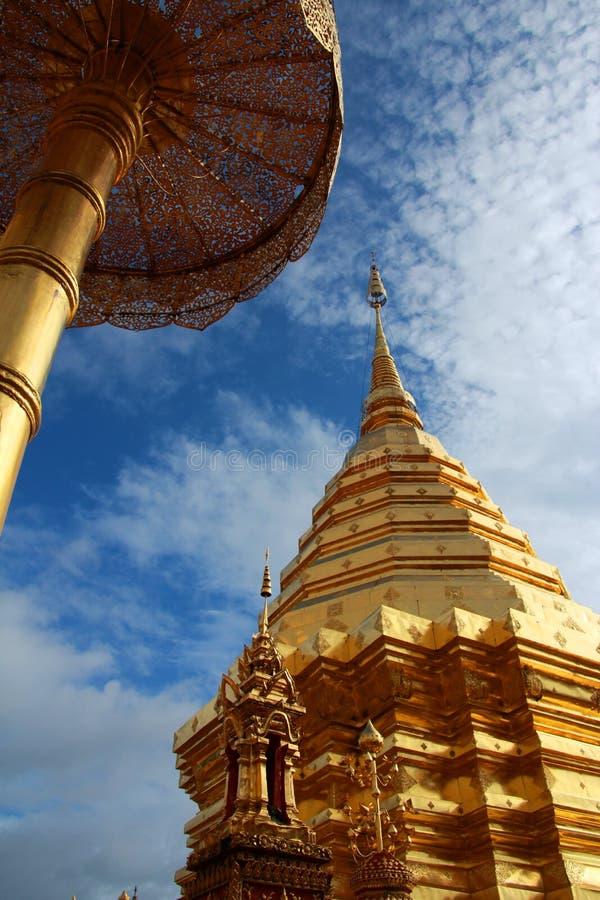 Wat Phrathat Doi Suthep lizenzfreie stockfotos