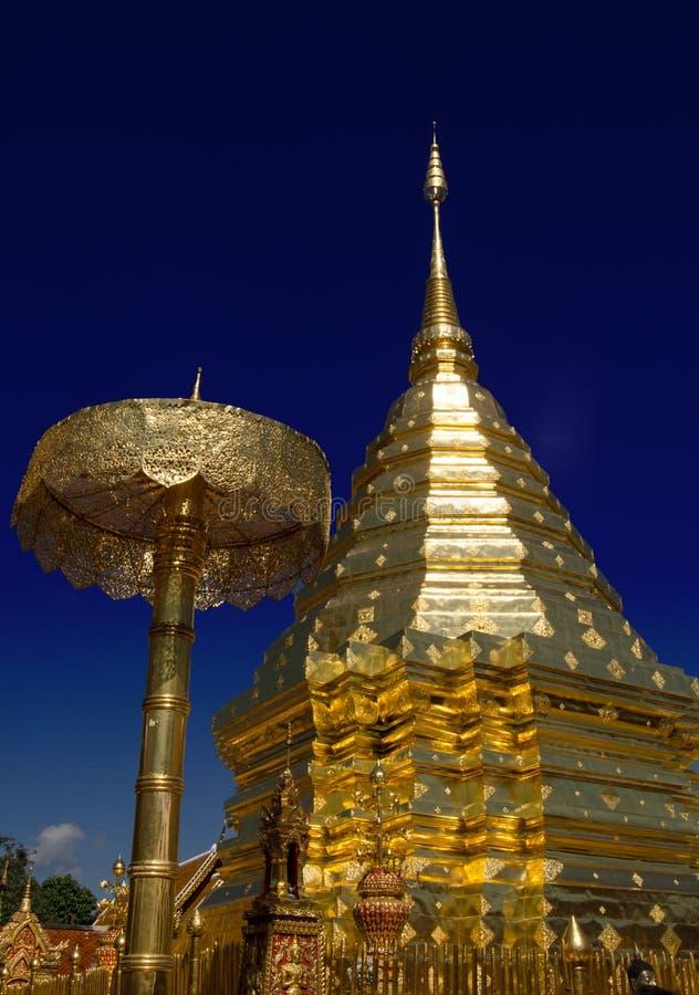 Wat Phrathat Doi Suthep Images libres de droits