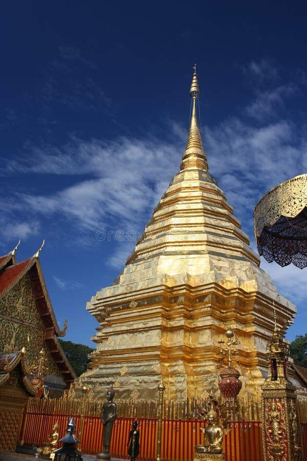Wat Phrathat Doi Suthep, Chiang Mai, Thaïlande photos libres de droits