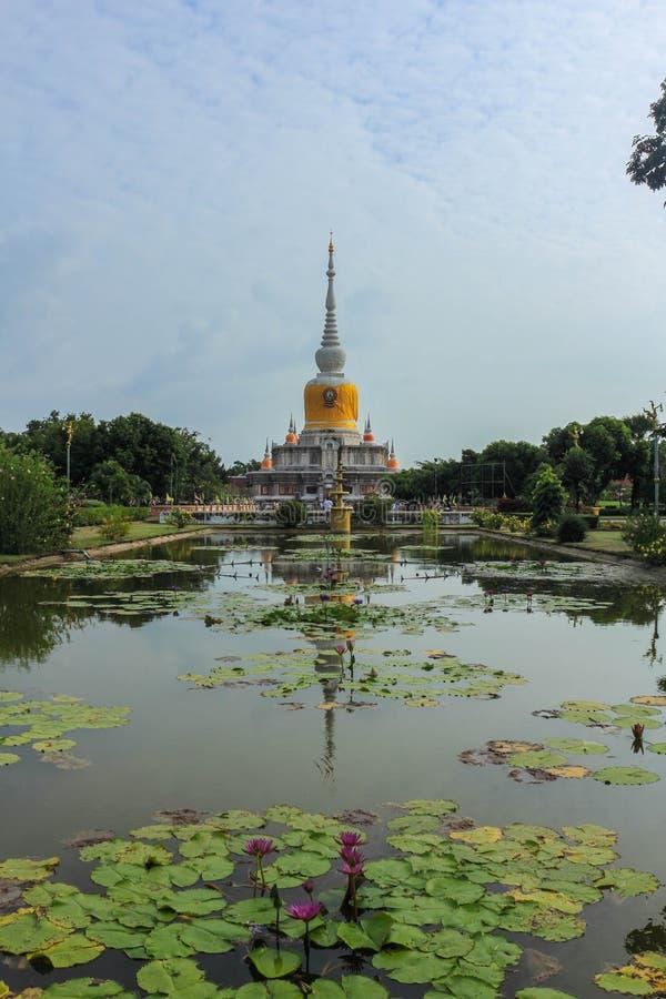 Wat PhraThat Na讨债者 免版税库存照片