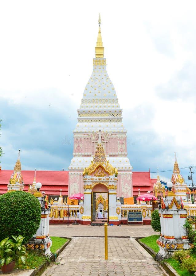 """Wat Phrathat Renu Nakhon"" Temple, stock image"