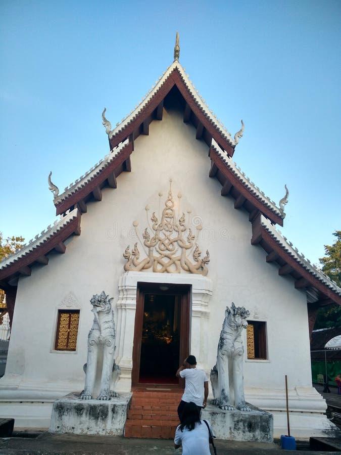 Wat Phrathatchaehaeng на Nan, Таиланде стоковая фотография