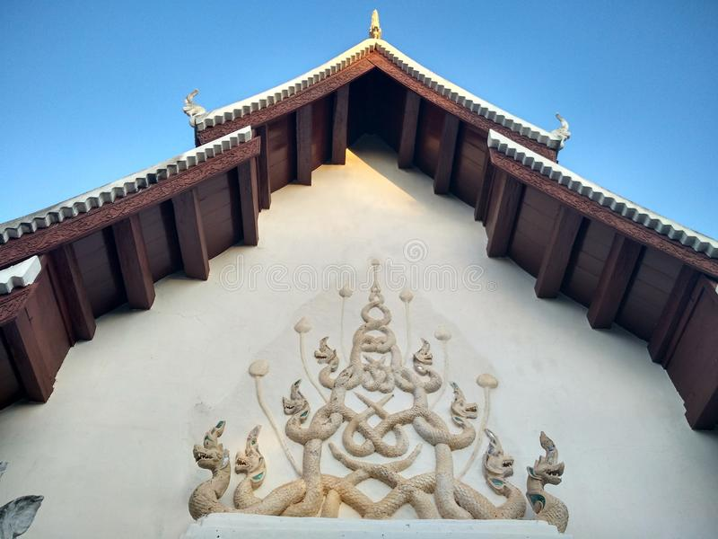 Wat Phrathatchaehaeng at Nan,Thailand stock photo