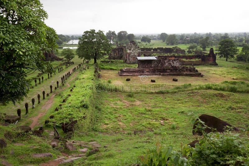 Wat Phu zdjęcie stock