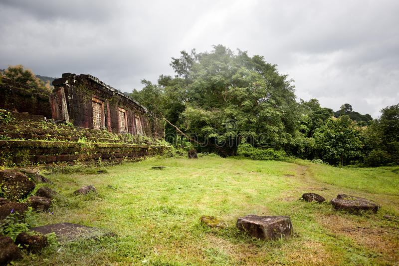 Wat Phu fotografia stock