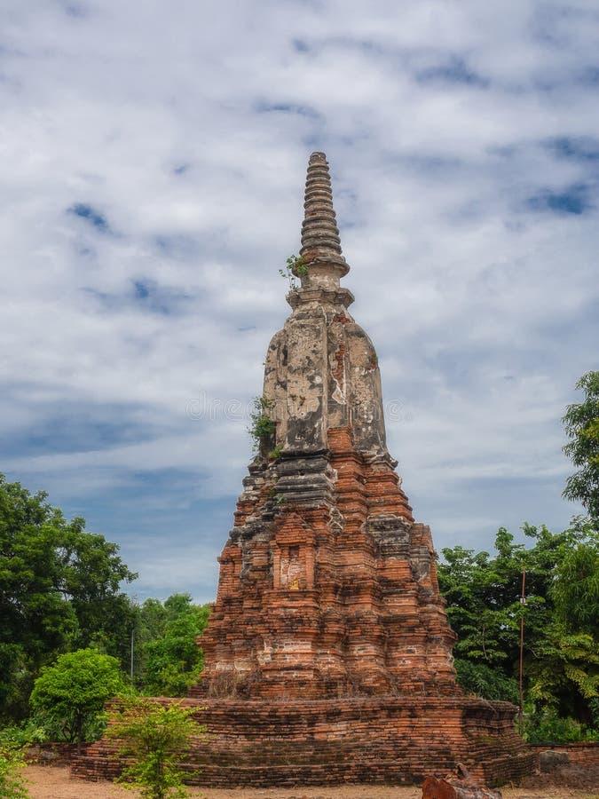 Wat Phu Khao Thong, Thailand stockfoto