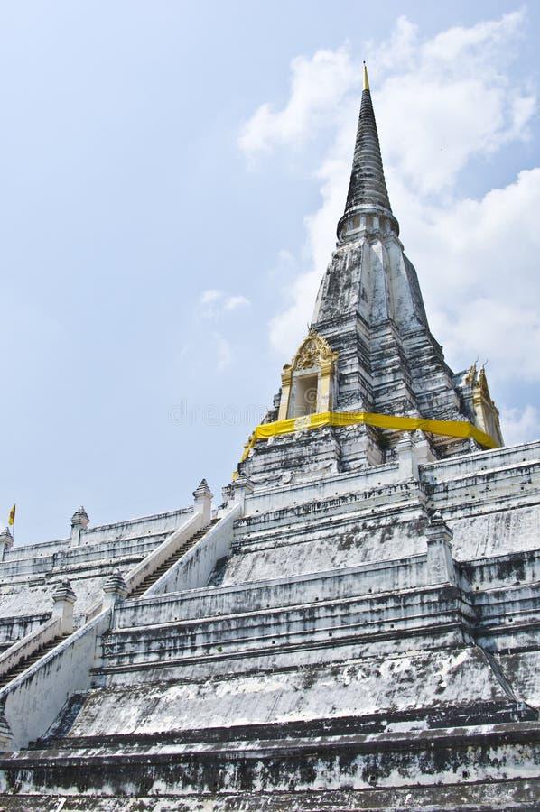Wat Phu Khao Zapfen stockfoto