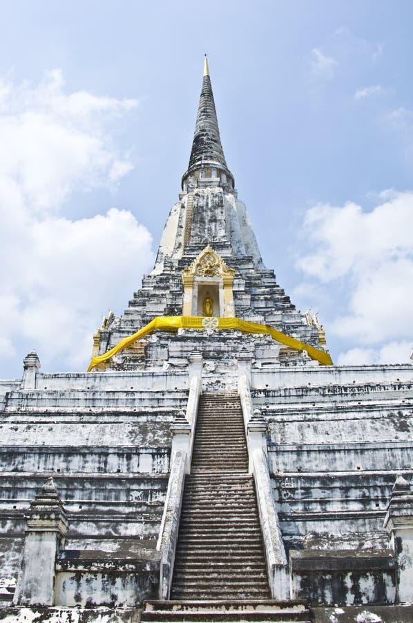 Wat Phu Khao Zapfen stockfotos