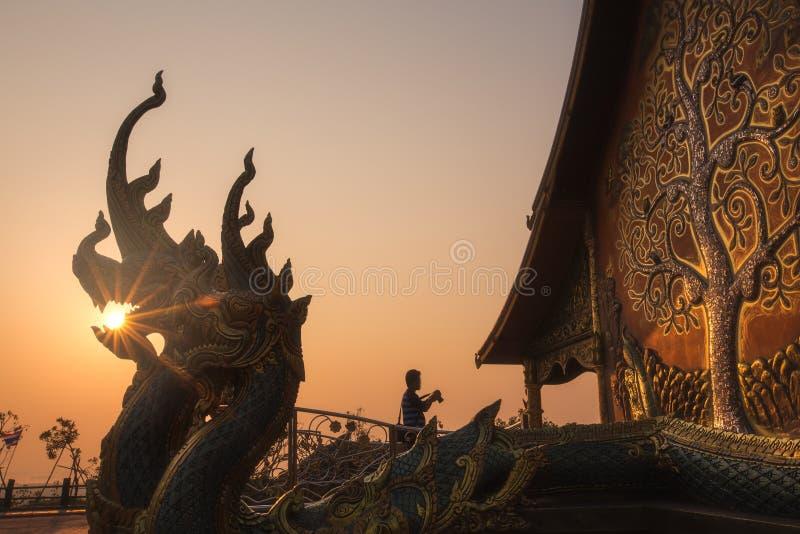 Wat Phu Prao o Wat Siridhornwararam en Ubonratchathani, Tailandia foto de archivo