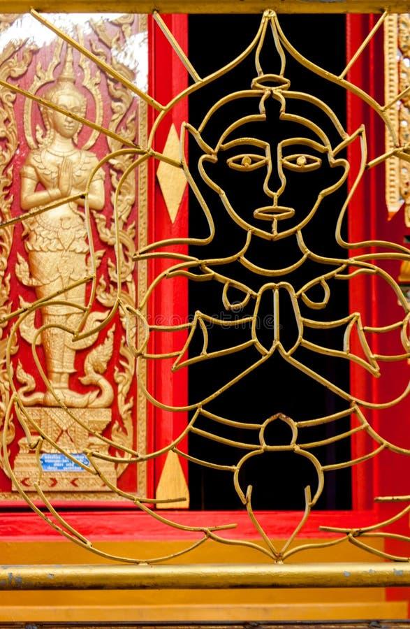 Wat Phukhao Thong, Mae Nam, Koh Samui, Tailândia imagem de stock royalty free
