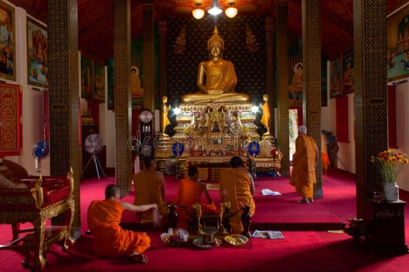 Wat Phukhao Thong, Mae Nam, Koh Samui, Tailandia immagine stock libera da diritti