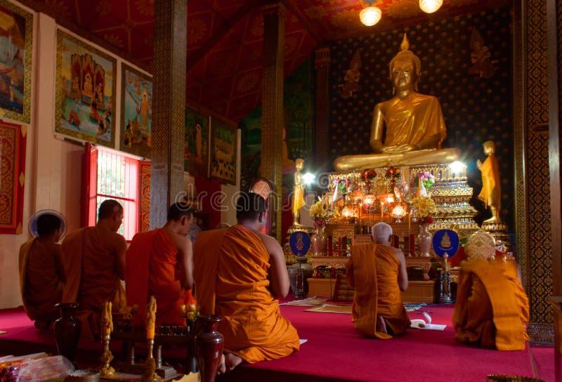 Wat Phukhao Thong, Mae Nam, Koh Samui, Tailandia fotografie stock libere da diritti