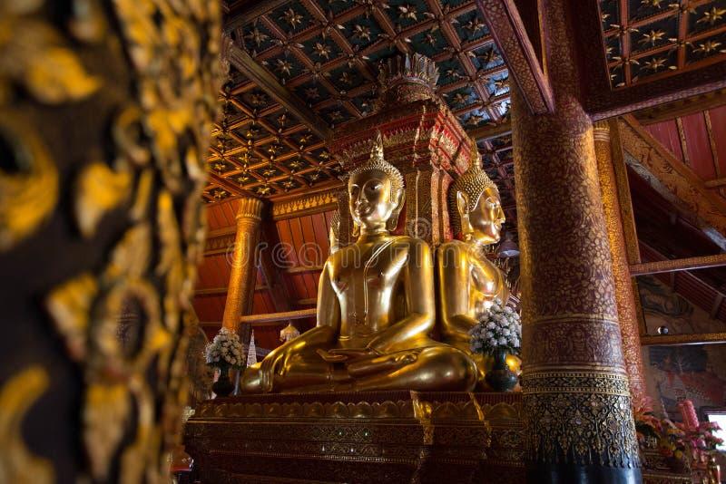 WAT PHUMIN - BUDDHAS стоковая фотография rf