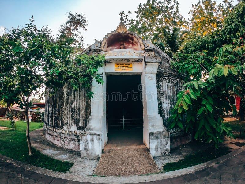 Wat Phumin est le temple le plus célèbre en Nan Province, Thaïlande image libre de droits