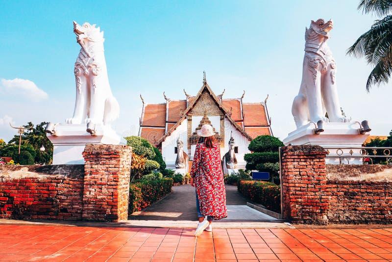 Wat Phumin est le temple le plus célèbre en Nan Province, Thaïlande photos stock