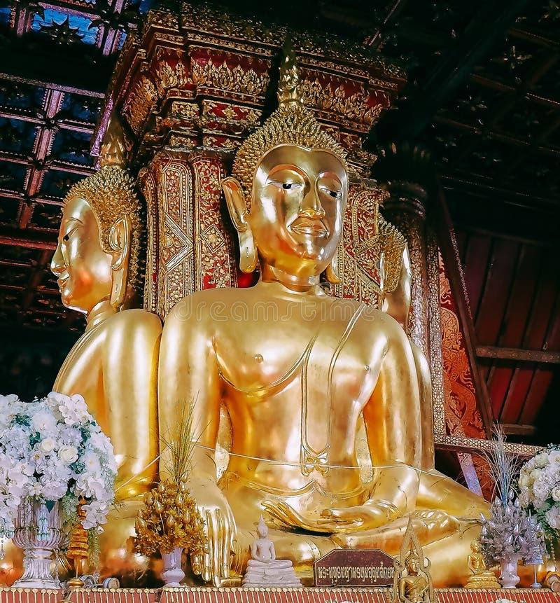 Wat Phumin est le temple le plus célèbre en Nan Province, Thaïlande photos libres de droits