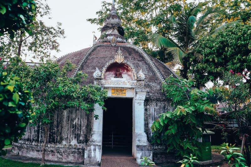 Wat Phumin est le temple le plus célèbre en Nan Province, Thaïlande image stock
