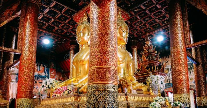 Wat Phumin est le temple le plus célèbre en Nan Province, Thaïlande photographie stock