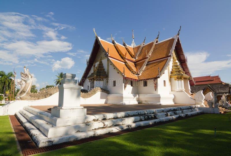Wat Phumin Nan, Thaïlande photos libres de droits