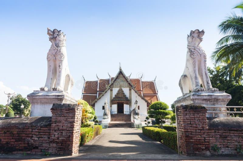 Wat Phumin Nan, Thailand royaltyfri fotografi
