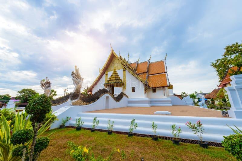 Wat Phumin, secteur de Muang, Nan Province, Thaïlande photographie stock
