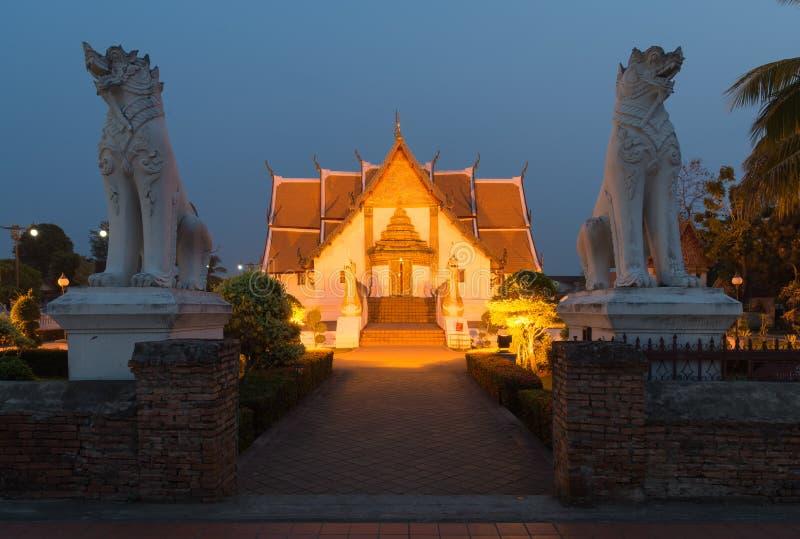 Wat Phumin (temple), NAN, Thaïlande photo libre de droits