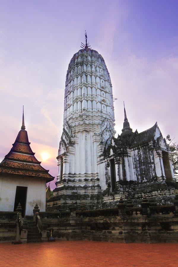Wat Phutthaisawan, Ayutthaya, Ταϊλάνδη, ένας ναός του μεγάλου ενδιαφέροντος στοκ εικόνα