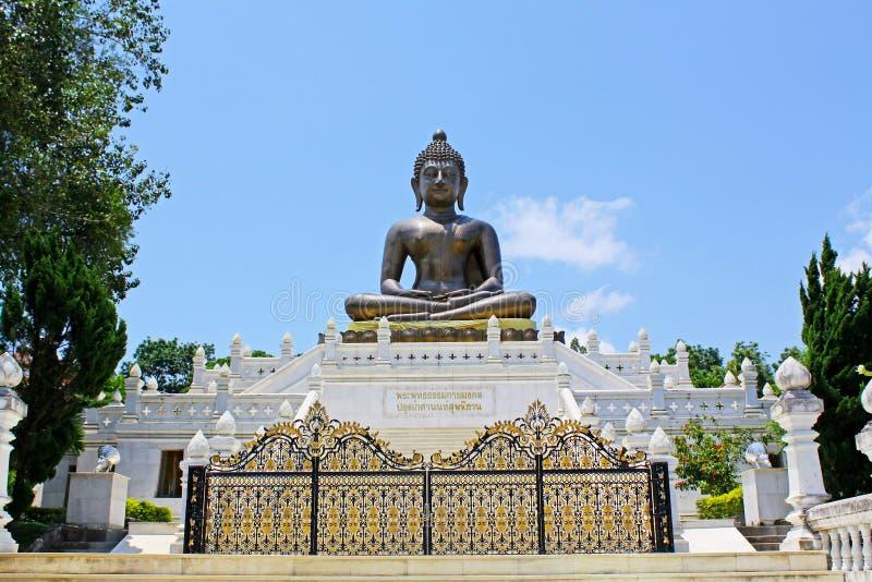 Wat Phutthathiwat, Betong, Thailand royalty-vrije stock foto's