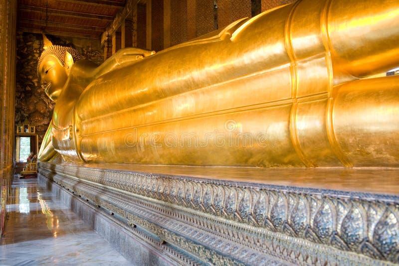 Wat Po, Buddha stock images