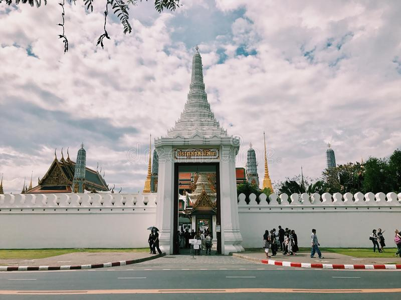 Wat-Pra- imagens de stock royalty free