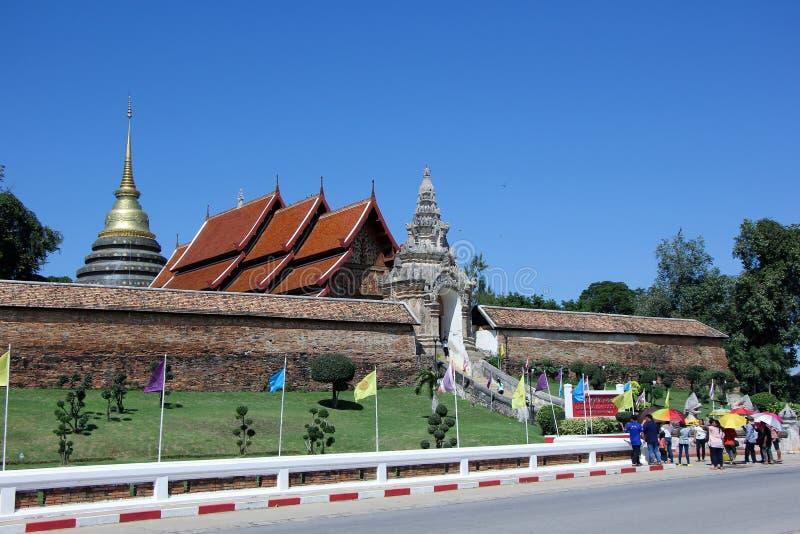 Wat pra den Lampang Luang royaltyfri foto