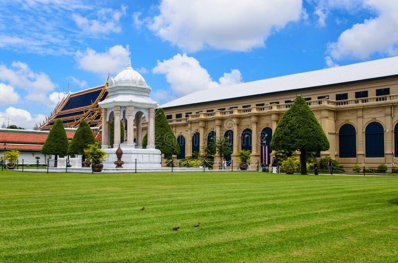 Wat Pra Kaew Royal Palace a Bangkok, Tailandia fotografie stock