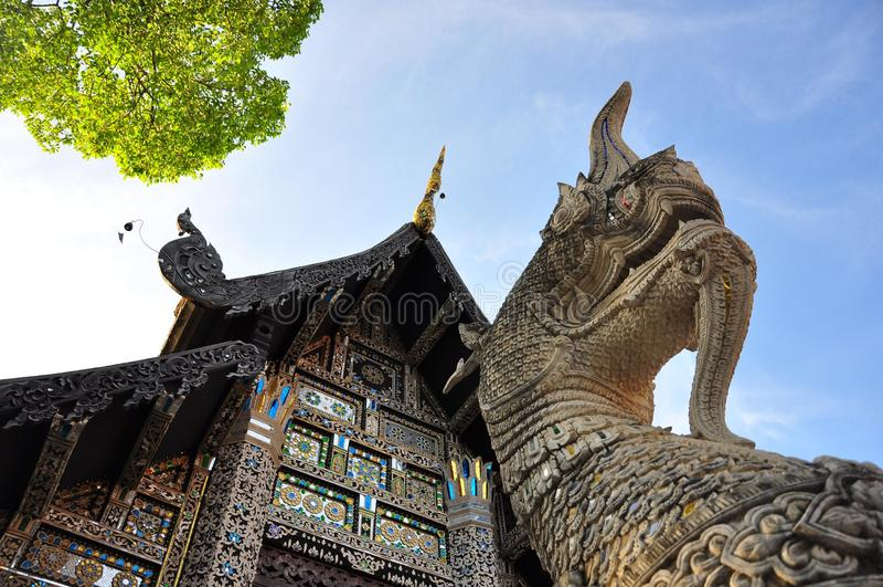 Wat Pra Singha foto de stock royalty free