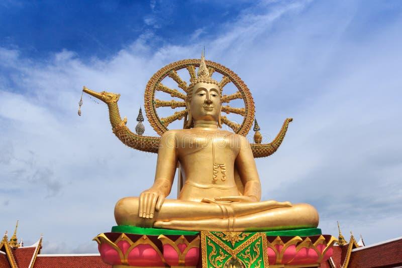 Wat Pra Yai - großer Buddha bei Koh Samui Thailand stockbilder